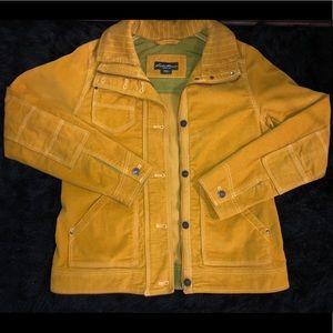 Yellow Eddie Bauer jacket